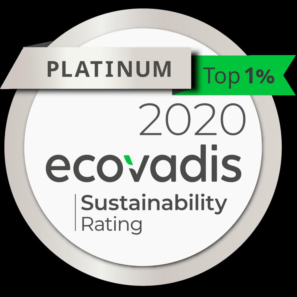 Ekium certification Ecovadis